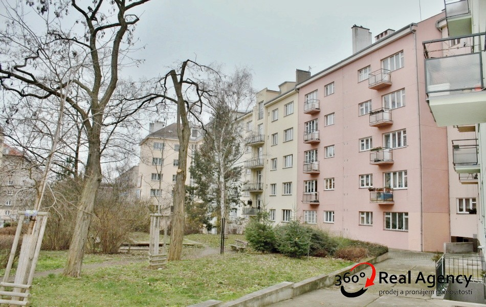 3+1/balkon, 84m2, OV, Praha-Vršovice.
