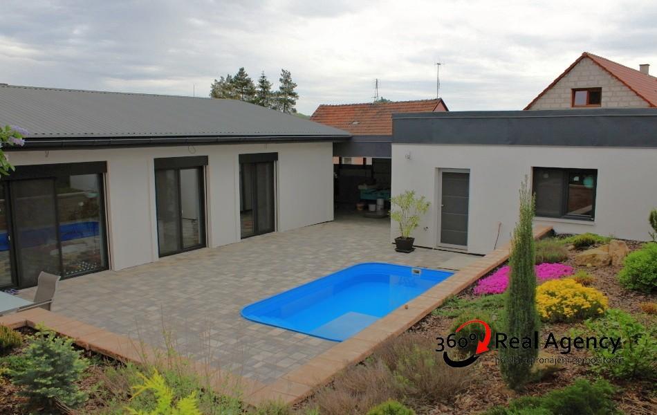 Prodej rodinného domu 4+kk, 108 m², pozemek 754 m² Poříčany, Spojovací