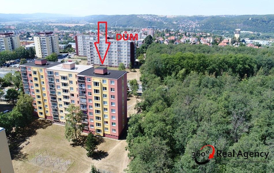 Byt 3+1/lodžie, sklep, 76m2, OV – lze hypo., Praha 4 – Kamýk.
