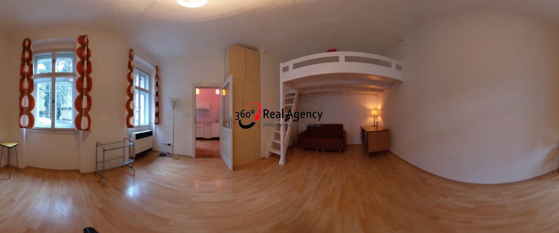 Pronájem bytu 1+1 46 m², Praha 2 – Nové Město.