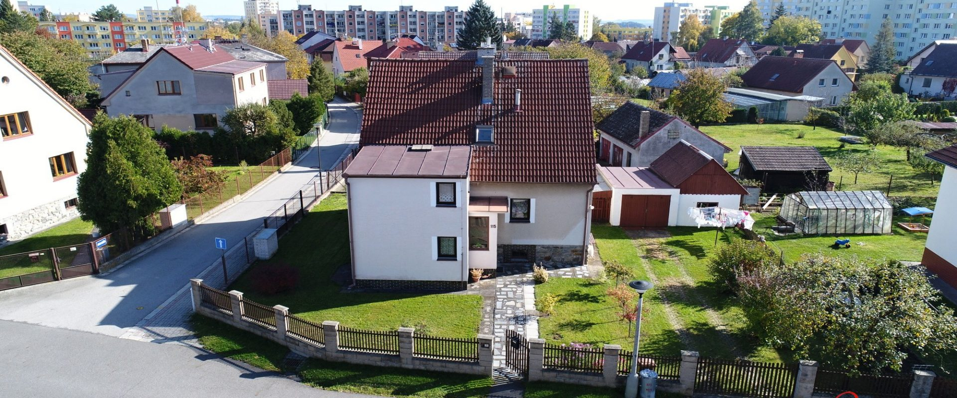 RD 5+2, Tábor (Klokoty) 152 m2 na pozemku 501 m2.