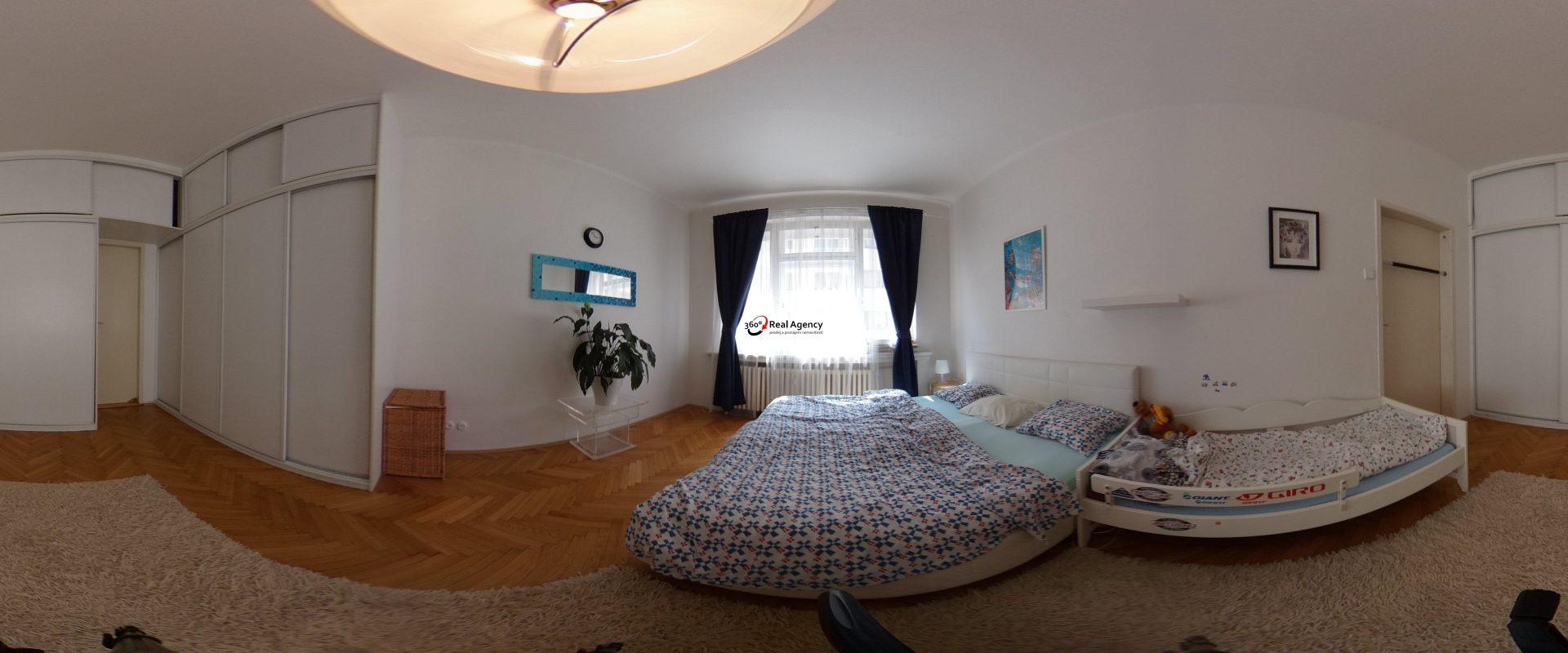 Byt 3+1/lodžie 106 m2, OV, Praha – Holešovice.