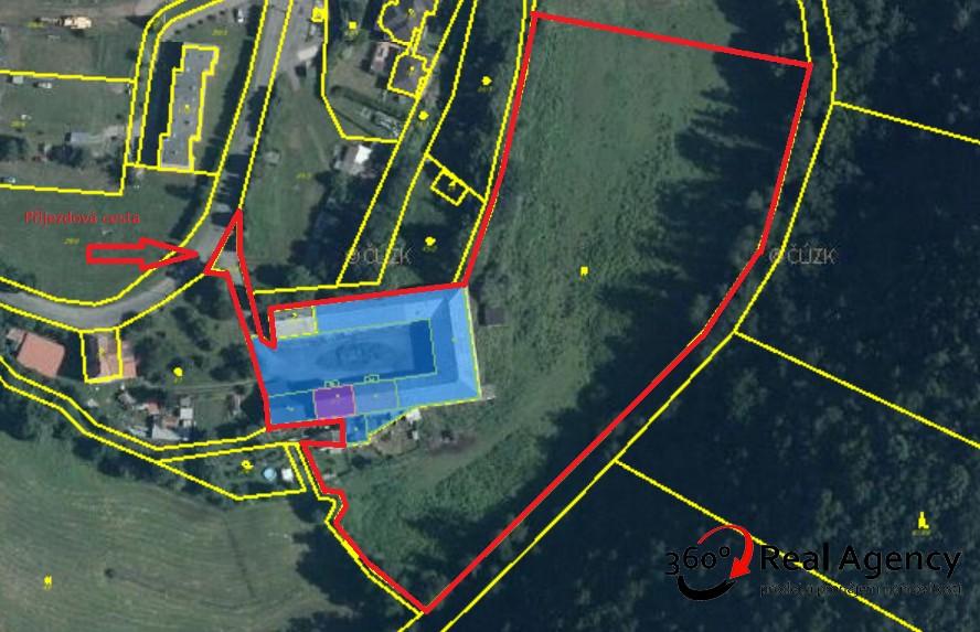 Prodej zemědělské usedlosti 1 279 m², pozemek 16 246 m².