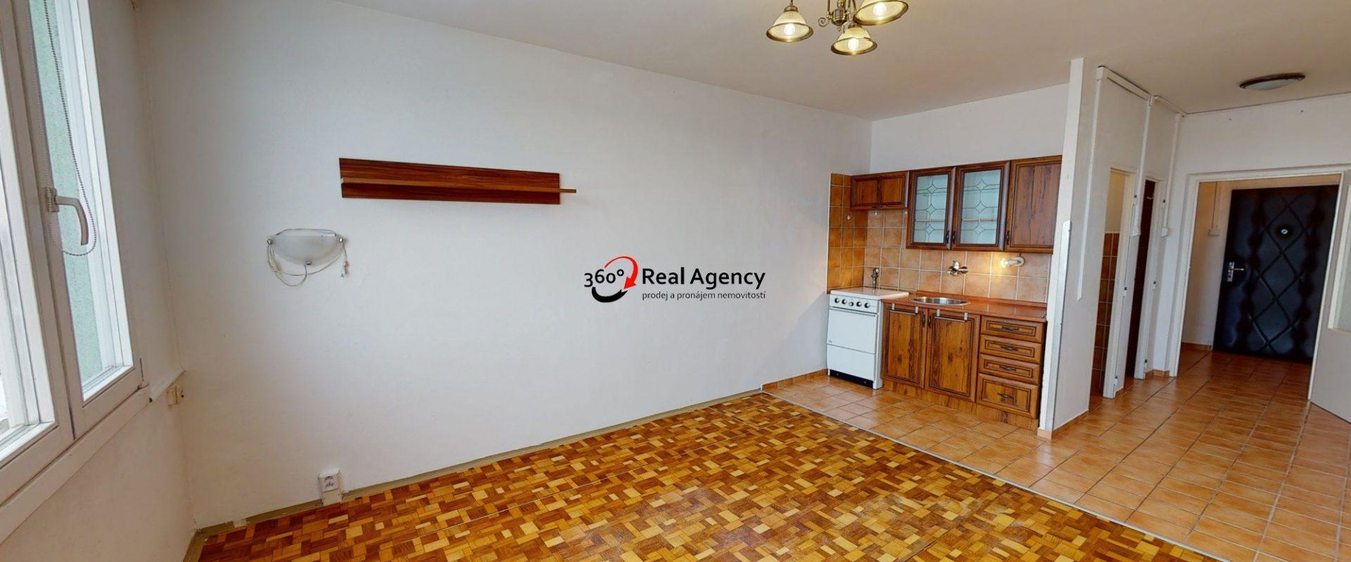Prodej bytu 1+kk 30 m², ul. Jahodová, Praha 10 – Záběhlice.